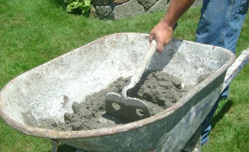 Как сделать бетон своими руками