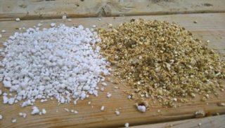 Перлит и вермикулит: в чем разница