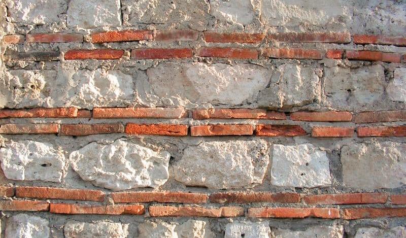 Старинная римская кладка