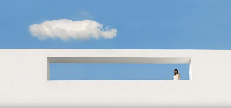 Минималистичные фасады с плоской крышей