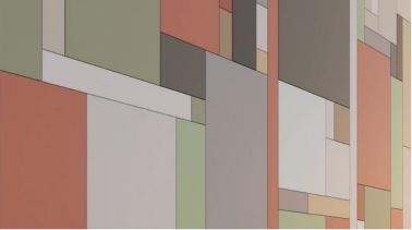 Разнообразие цветовых гамм фиброцементных панелей на фасадах