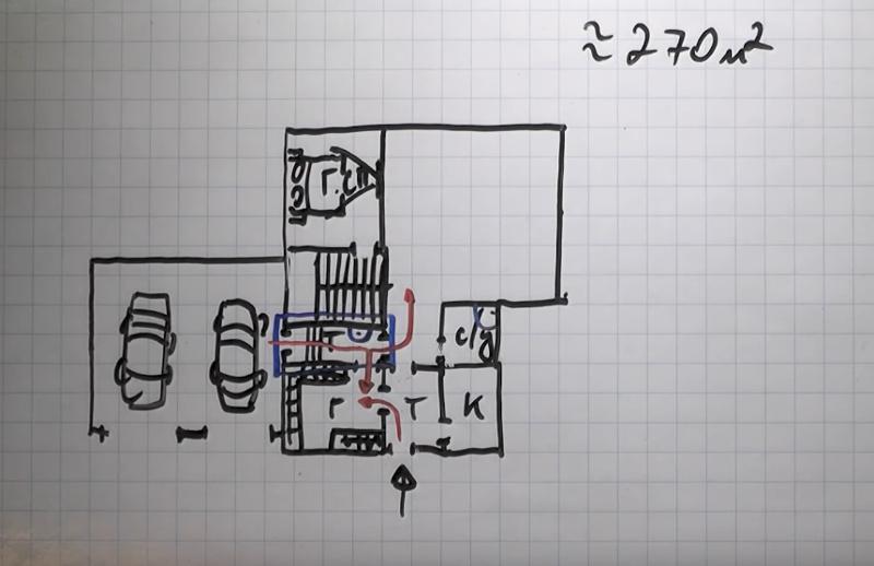 Добавляем гостевую спальню и лестницу в проект