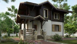 Проект дома из керамического блока на 106,2 кв метров
