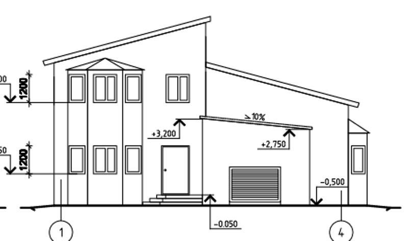 Проект двухэтажного дома 160 м2 с гаражом