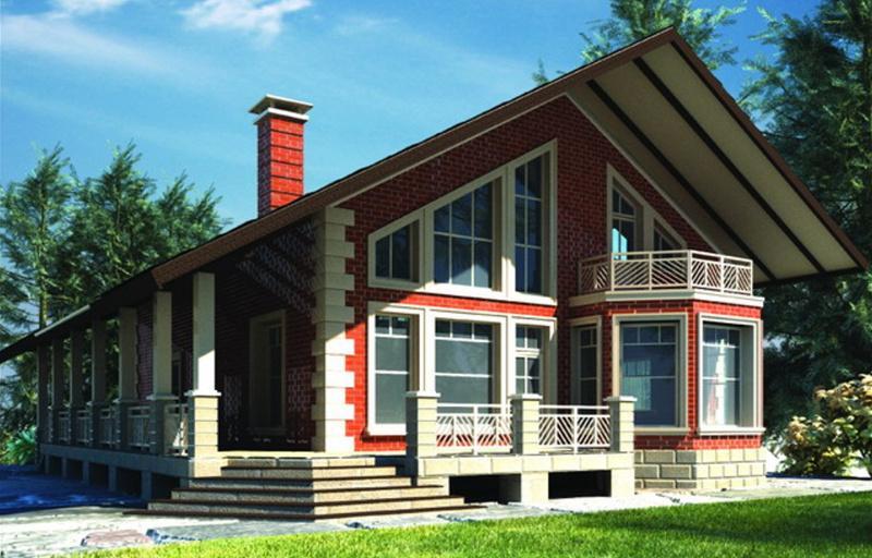 Проект двухэтажного дома 304,3 м2 в современном стиле