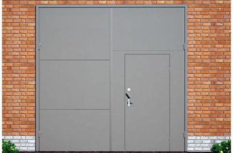 Проект гаражных ворот 3x3 метра